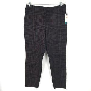 Alfani Houndstooth  Printed Skinny Pants